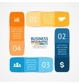 square infographic Template for diagram graph vector image