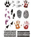 imprint set vector image