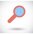 Search single icon vector image vector image