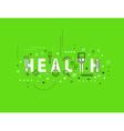 Medicine concept design Health vector image
