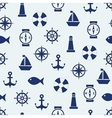Maritime mood background vector image
