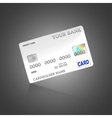 Template credit card vector image