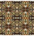 authentic seamless floral geometric pattern vector image vector image