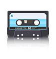 cassette-60 vector image