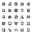 Electronics and Devices Icons 4 vector image
