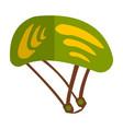 travel helmet isolated on white background vector image