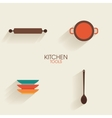 Abstract Kitchen Tools vector image