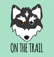 On The Trail vector image