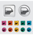 Door icon 2 vector image vector image