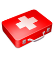 first aid kit vector image vector image
