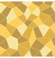 Gold Mosaic geometric seamless pattern 3D vector image