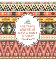 Seamless texture in navajo style vector image