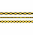 warning tapes seamless hazard stripes texture vector image