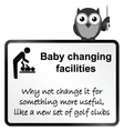 Baby Changing vector image
