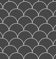 Dark gray overlapping circles vector image