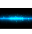 abstract energy on blue color background vector image