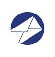 email mail envelope letter symbol vector image