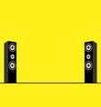 of speakers vector image