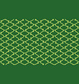 isometric seamless pattern net lines background vector image