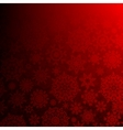 Seamless deep red christmas EPS 10 vector image vector image