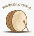 ramadan drum vector image