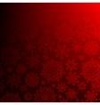 Seamless deep red christmas EPS 10 vector image