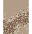 Coffee foam vector