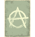 anarchy sign vector image vector image