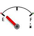 measuring petrol for you design vector image