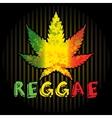 Reggae vector image
