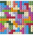 Color blocks vector image vector image