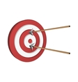 Arrows Hitting A Target vector image
