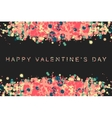 happy valentin day vector image