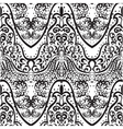 vintage lace ornament pattern vector image