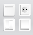 Plugs and switches vector image