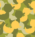 Military camouflage rubber ducks Military texture vector image