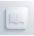 modern book light icon vector image