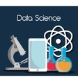 Data Science design vector image