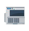 printer machine office copy print business icon vector image
