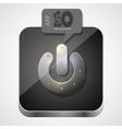 Power app icon vector image