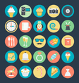 Celebration and Party Colored Icons 2 vector image