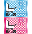 birth cards vector image