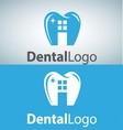 dental logo 9 vector image