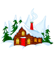 Forest House vector image