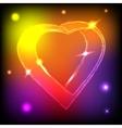Neaon Heart vector image
