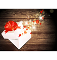 Valentine Day Magic Gift vector image