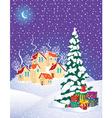 Christmas mystery vector image