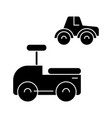 toys cars icon sign o vector image