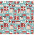 christmas presents background vector image vector image