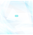 Abstract geometric light blue background vector image vector image